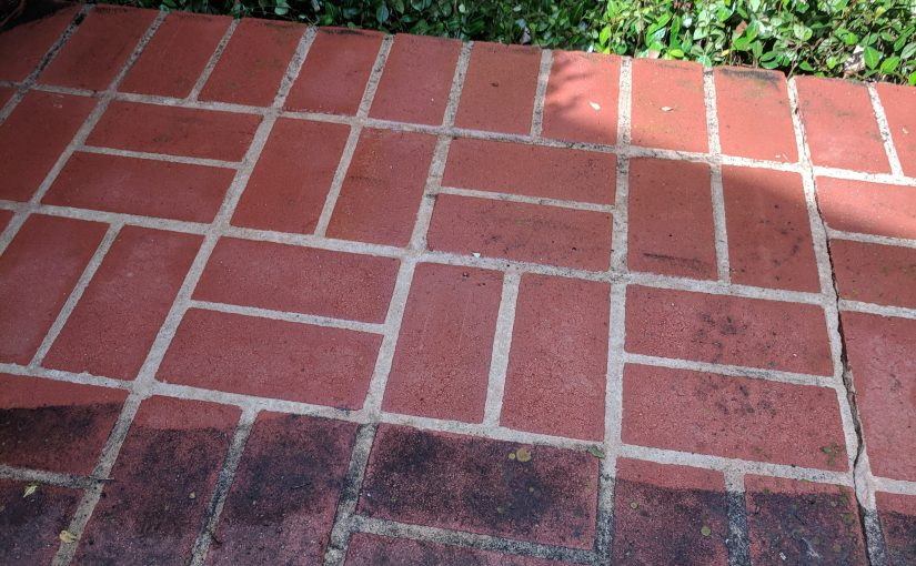 Power washing is amazing.